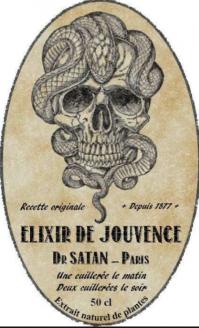 Elixir de jouvence du dr satan
