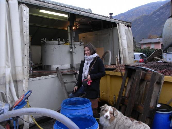 Florence une agricultrice distillatrice dont je vous reparlerai biento t