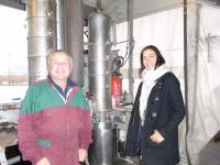 Jean charles le distillateur avec florence alcoolle gue