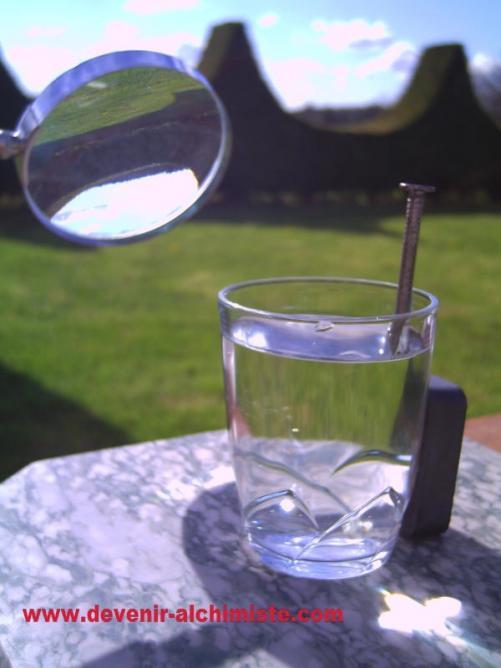 L'eau solarisée de Stéphane Barillet