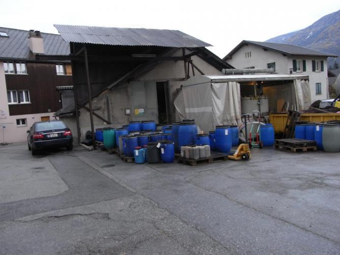 La distillerie teissie res a st le onard