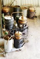 Les alambics de l atelier du bouilleur