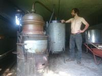 Nouvel alambic a edelweiss distillerie est arrive 7 7 17