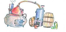l'Alambic, l'Art de la Distillation, Alcools, Parfums, Médecines
